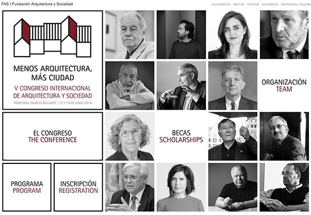 """V Congreso Internacional de Arquitectura y Sociedad """"Menos arquitectura, más ciudad"""""""