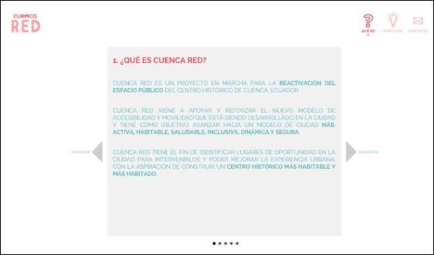 Sección ¿Qué es?, Plataforma Local In Cuenca
