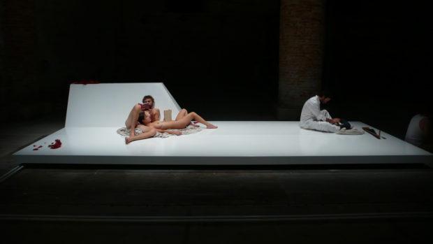 Digestible Gulf Stream, Venice Biennale 2008 - Philippe Rahm. Image courtesy of Philippe Rahm.