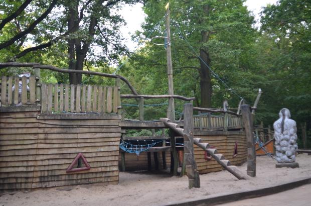 Zona dedicada a Aladino en el Hasenheide Volkspark. Foto: A. Walliser