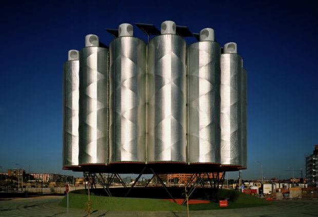Ecobulevar- Arbol de Aire, Ecosistema Urbano, 2004, Ensanche de Vallecas, Madrid.