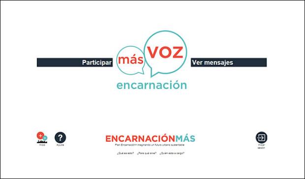 Plataforma Local In, para el proyecto Encarnación Más