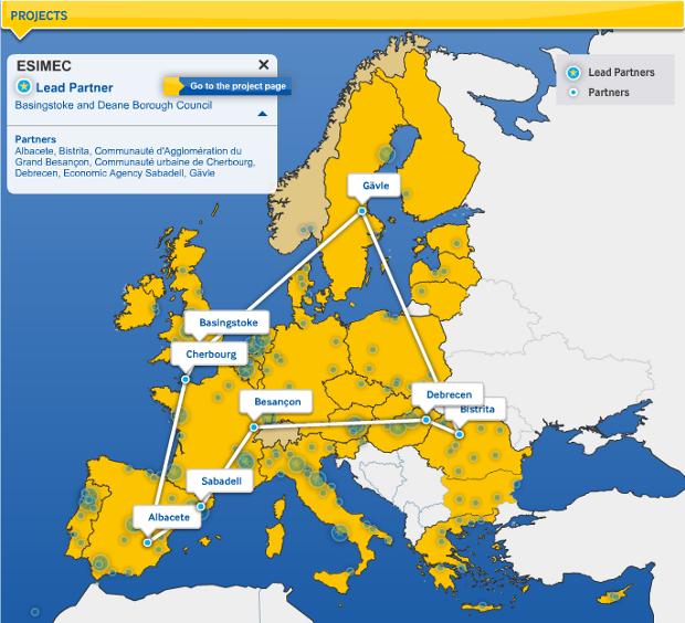 Mapa del proyecto ESIMeC