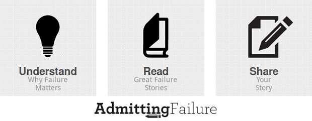Admitting failure