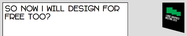So now I will design for free too?
