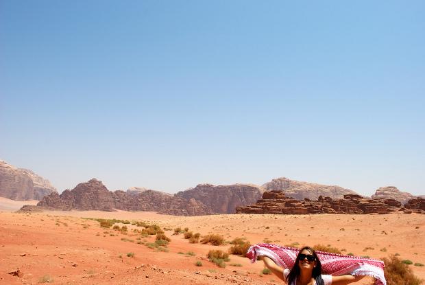 Serena in Jordania