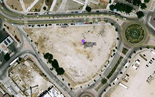 Ortofoto de Plaza Ecópolis en Google Maps