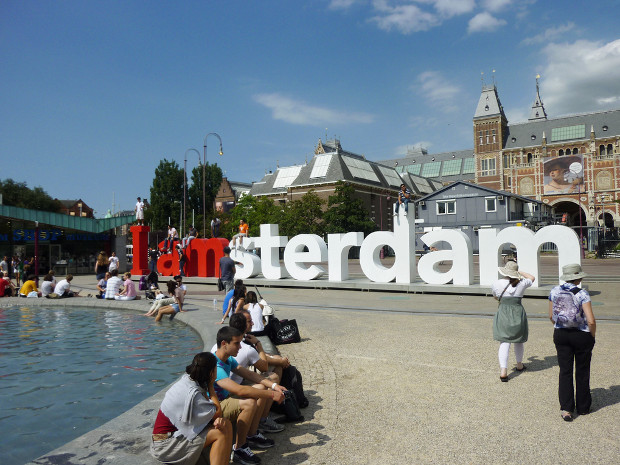 Iamsterdam - imagen por albertstraub en Flickr - clic para ver original