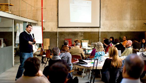 Instantánea del último seminario nacional - Foto Emilio P. Doiztúa