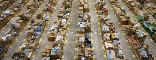 Inventoring in Amazon warehouse