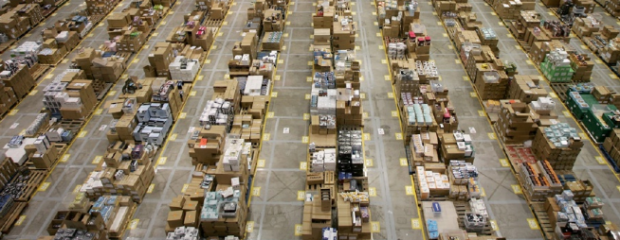 Inventoring in Amazon warehouse