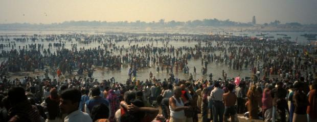 Kumbh Mela - Foto: sabamonin en Flickr - clic para ver original