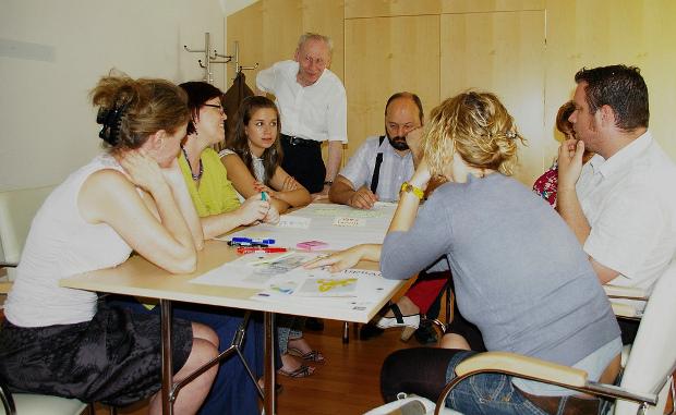 Sesión en Hungría - Foto por URBACT