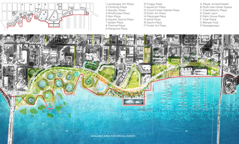 Ecosistema Urbano Wins West Palm Beach Design Competition