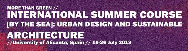 More Than Green international summer course