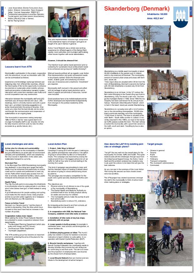 Captura de uno de los documentos resumen del proyecto