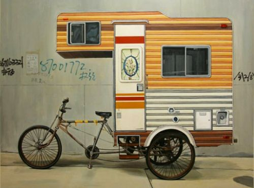 RV-Camper bike by Kevin Cyr