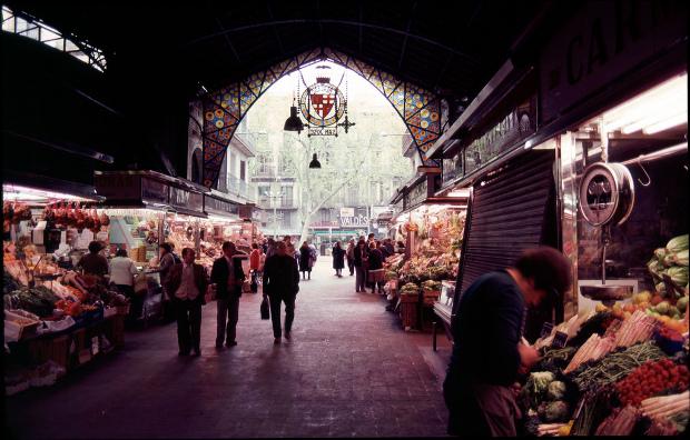 Sant Josep - La Boqueria, Barcelona - Foto por fossilmike en Flickr - clic para ver original