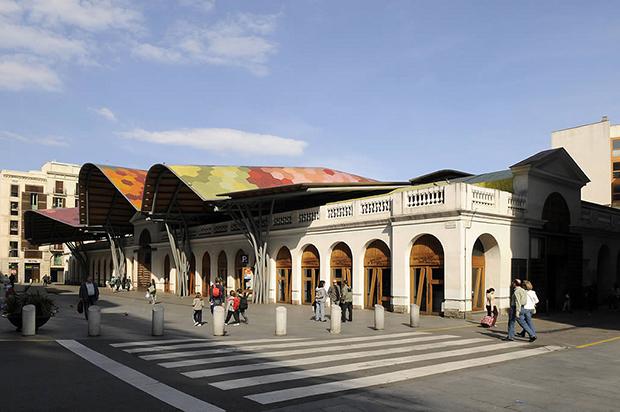 Mercado de Santa Caterina - Foto por Mercats de Barcelona en Flickr