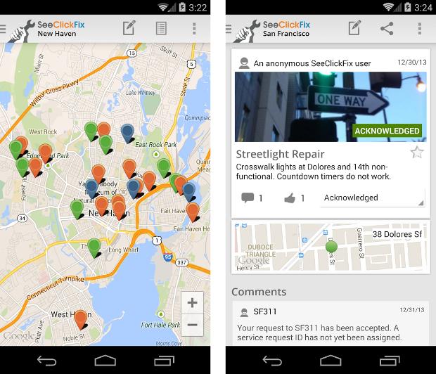 SeeClickFix - Android app