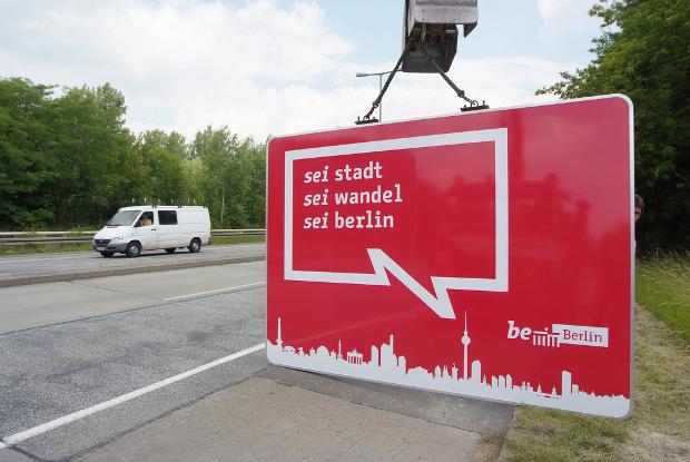 """Sei Stadt. Sei Wandel. Sei Berlin - Imagen por """"be berlin"""" en Flickr - clic para ver"""
