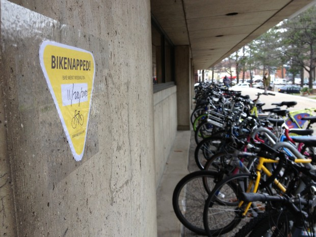 bikenapped sticker