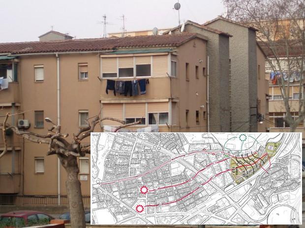 Barrio de Trinitat Nova, Barcelona