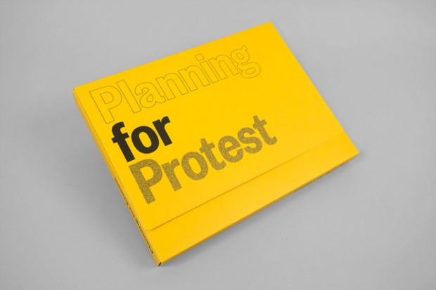 Planning for protest publication - by Project Projects