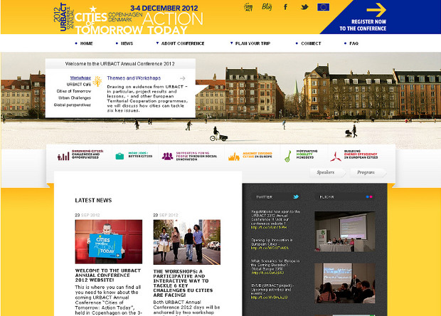 URBACT Conference website
