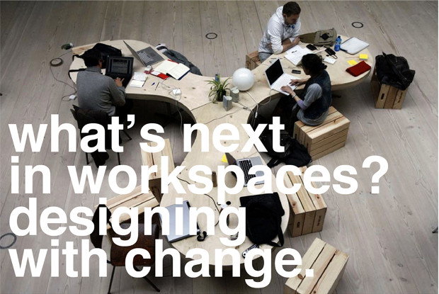 Roundtable: What's next in workspaces? Designing with change - clic para ver invitación